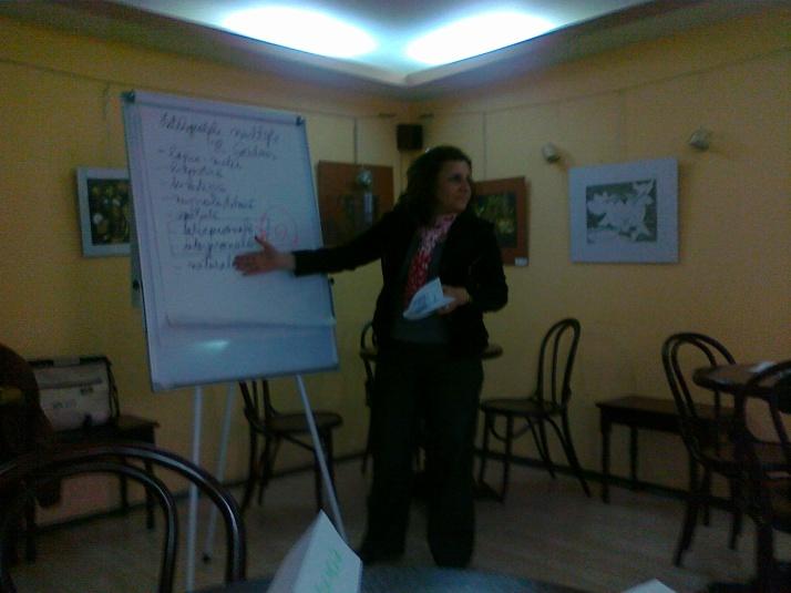 La Atelierul de Inteligenta interpersonala din 2 iunie- Ceai@Caetera